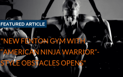 """New Fenton gym with ""American Ninja Warrior""-style obstacles opens"""