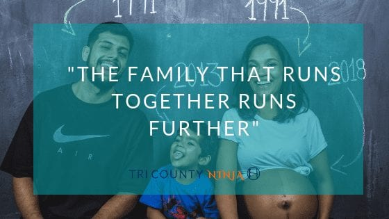 The Family That Runs Together Runs Further